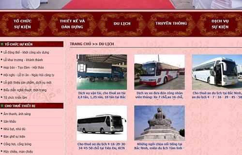 Top 5 địa chỉ cho thuê xe du lịch giá rẻ tại Bắc Ninh