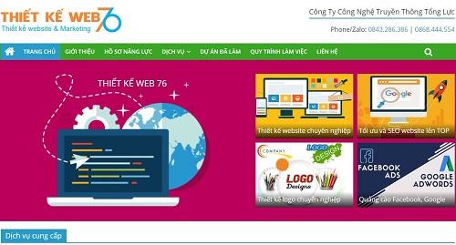 Top 5 công ty thiết kế Web giá rẻ tại Quảng Ngãi