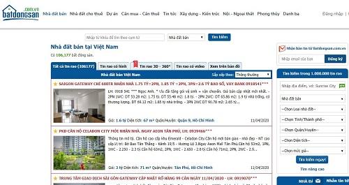Top 8 Trang đăng tin bất động sản miễn phí tốt nhất hiện nay