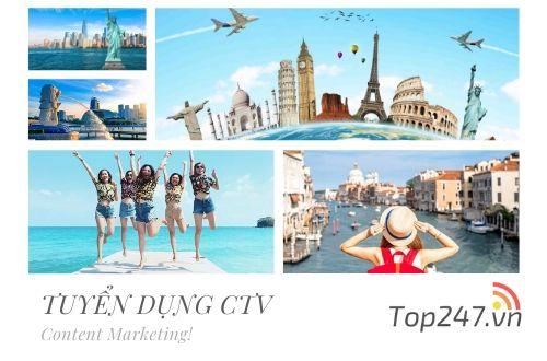 Top247.vn – Tuyển dụng CTV viết  bài Review Du Lịch