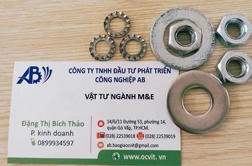 Top 5 công ty sản xuất ốc vít lớn nhất tại TP.HCM