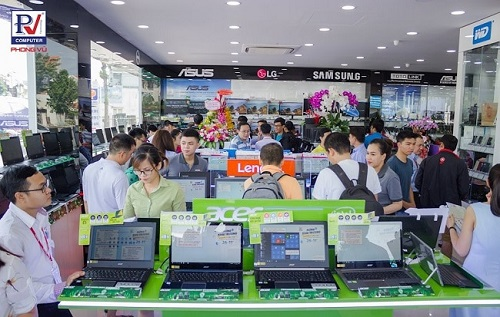Top 5 cửa hàng bán laptop uy tín nhất tại TP.HCM