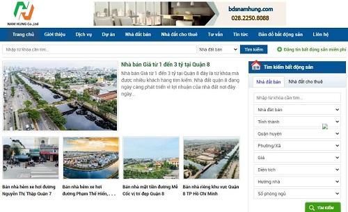 BĐS NAM HƯNG – kênh thông tin mua bán nhà đất uy tín nhất TPHCM