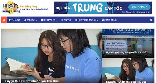 Top 10 trang web tự học tiếng Trung Online tốt nhất