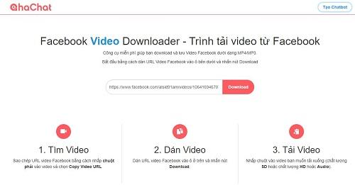 Top 5 cách tải video Facebook chất lượng cao về máy nhanh nhất