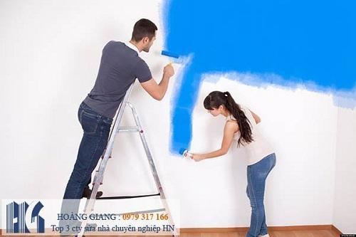 Top 5 dịch vụ sơn nhà trọn gói chuyên nghiệp nhất tại Hà Nội