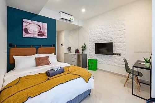 Ngỡ ngàng những mẫu thiết kế nội thất căn hộ đẹp tinh tế