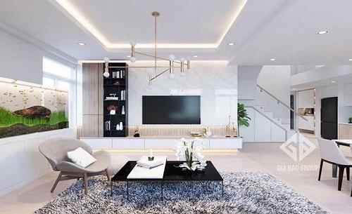 Những xu hướng thiết kế nội thất căn hộ chung cư 70m2 thời thượng