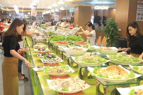 Top 10 quán buffet hải sản ngon, nổi tiếng nhất ở Hà Nội