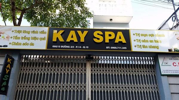 Kay Spa quận 10 – Spa làm đẹp tốt và uy tín tại quận 10