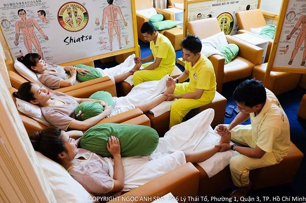 Ngọc Anh Spa – Địa chỉ Massage nổi tiếng tại Sài Gòn