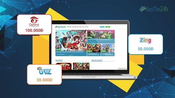 Banthe24h.vn – Địa chỉ vàng cung cấp thẻ cào uy tín dành cho bạn