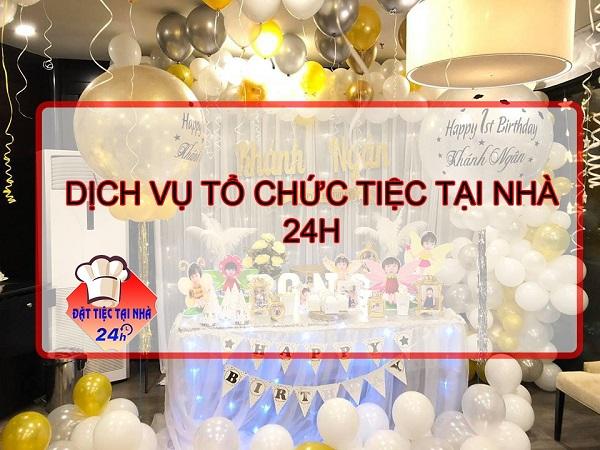Dịch vụ tổ chức đặt tiệc tại nhà TP.HCM uy tín