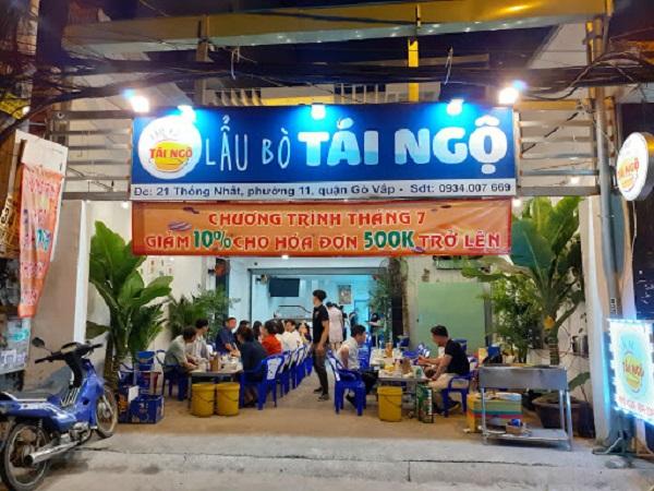 Top 5 quán lẩu bò ngon rẻ, nổi tiếng nhất quận Gò Vấp