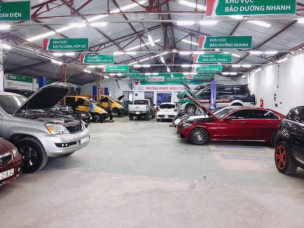 Top 10 xưởng/ Gara xe ô tô uy tín, giá rẻ nhất ở TP.HCM
