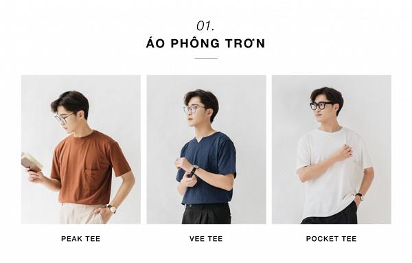 Top 5 shop bán áo phông Nam đẹp, nổi tiếng tại Hà Nội